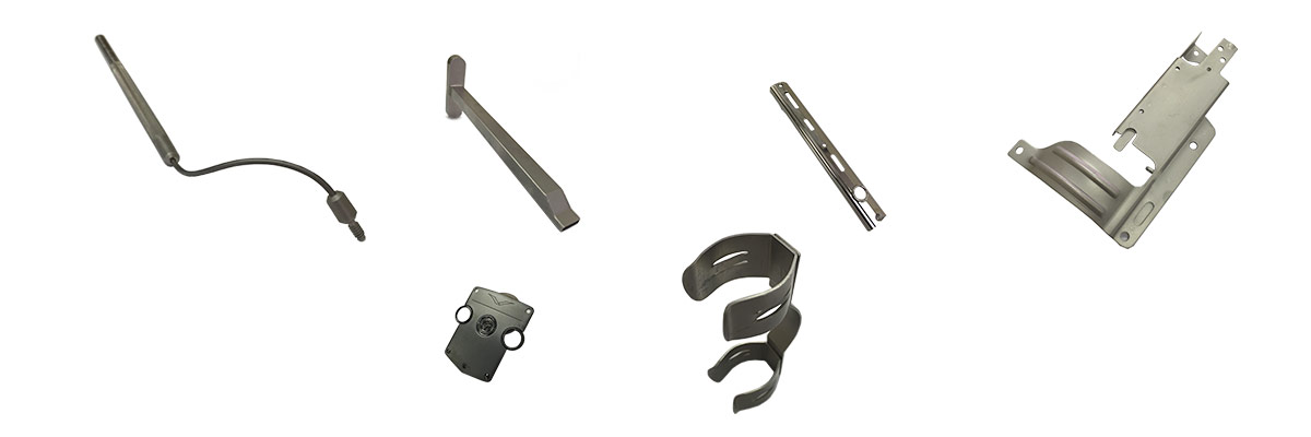 examples of welded assemblies and mechanical assemblies.