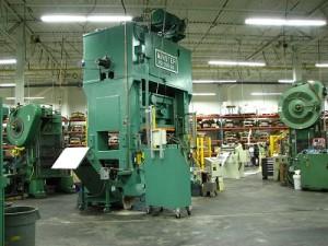 Precision Metal Stamping Press